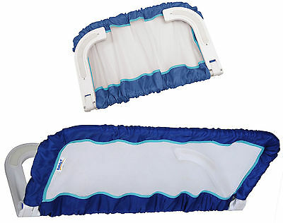 Safety 1st Compact Bed Guard Travel Bedrail Fold Bed Rail Unisex Portable