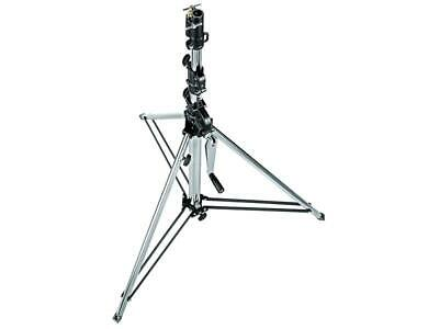 Manfrotto 087NW Stativ Wind-Up Silber 3-teilig