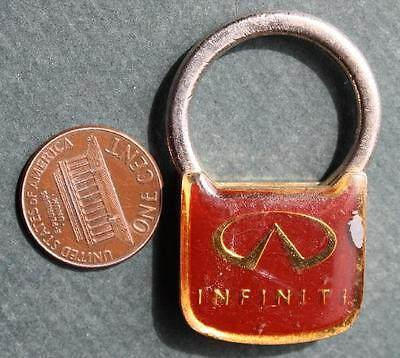 1980s Era Cincinnati,Ohio Infiniti Motor Cars unique design metal keychain-COOL!
