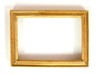 Dolls House Empty Gold Picture Painting Frame Small Miniature 1:12 Accessory