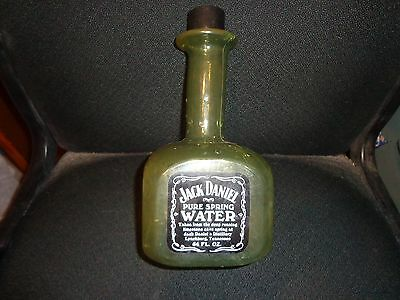 Jack Daniels Vintage Rare Discontinued Spring Water Plastic Bottle Empty