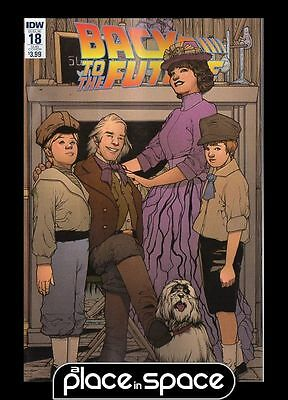 Back To The Future (Idw Publishing) #18B - Sub Variant (Wk16)