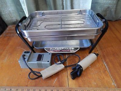 Farberware Open Hearth Grill, Works Great! Has Cord, and Motor For Rotisserie!