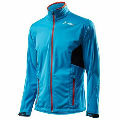 Löffler Jacke Windstopper Softshell light Softshelljacke blau