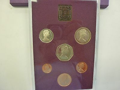 Coinage Of Great Britain & Northern Ireland, 1980 6-Coin Proof Set, Sealed