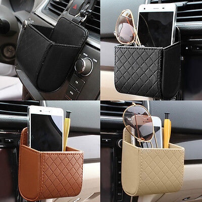 Car Universal Storage Pouch Bag Store Phone Charge Box Holder Pocket Organizer