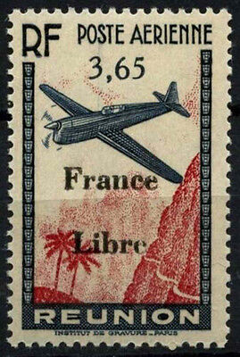 Reunion 1943 SG#241, 3f65 Air Optd MNH #D49626