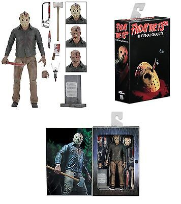 """Friday The 13th Part 4 Ultimate Jason Voorhees 7"""" Figure 2017 NECA In Stock"""