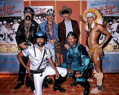 "Village People 10"" x 8"" Photograph no 1"