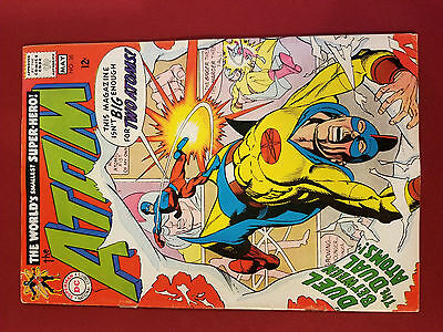 Atom 36 (1968 DC) Silver Age * May * DUEL BETWEEN THE DUAL ATOMS * Fast Ship