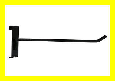 """10"""" Gridwall Hooks For Grid Panel Display- Black White or Chrome - FREE SHIPPING"""