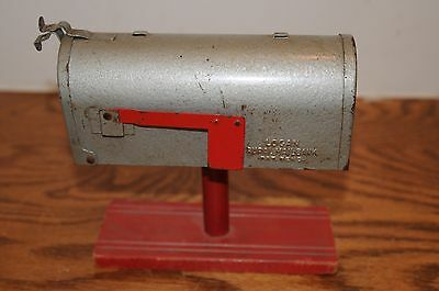 Vintage US Mail Logan Rural Mailbox Toy Coin Bank 1960's Mail Boxes Still  Bank