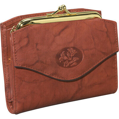 Buxton Heiress French Purse 5 Colors Women's Wallet NEW