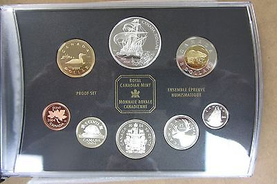 2004 Canada Proof Set - Five Sterling Silver Coins - Original Box