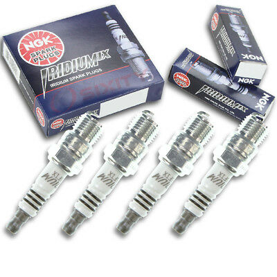 4pcs Crusader 7.4L HO MPI NGK Iridium IX Spark Plugs Platinum Kit Set Engine wo