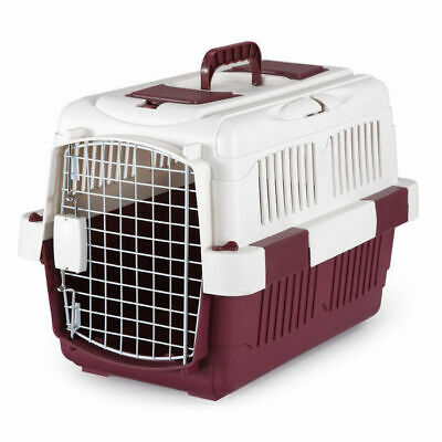 Dog Pet Carrier Cat Bird Rabbit Chicken Transport Cage S