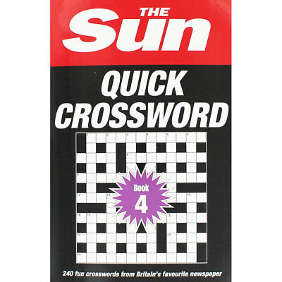 The Sun Quick Crossword - Book 4 by The Sun (Paperback), New Arrivals, Brand New