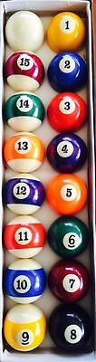 "2 1/4"" Pool / Billiard Balls"