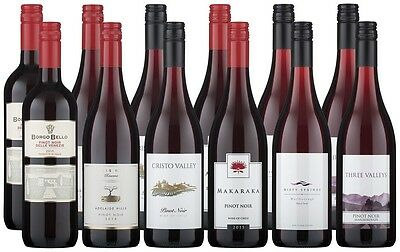 Perfect Pinot Noir Selection (12 x 750mL)