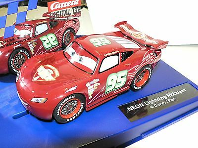 Carrera Digital132 Disney Pixar Car Neon Lightning McQueen 30751 New