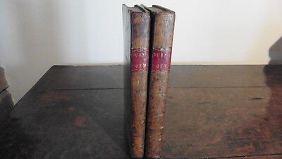 Poems Chiefly In The Scottish Dialect By Robert Burns 2 Vols Full Tree Calf 1798
