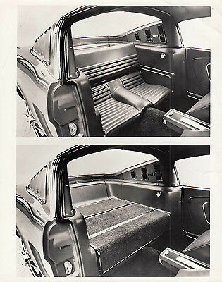 Ford Mustang Rear Compartment, Seats Up & Down, Photograph,