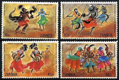 Zambia 1979 SG#283-6 COmmonwealth Summit Conference MNH Set #D48221