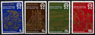 Swaziland 1979 SG#314-7 Discovery Of Gold MNH Set #D49117