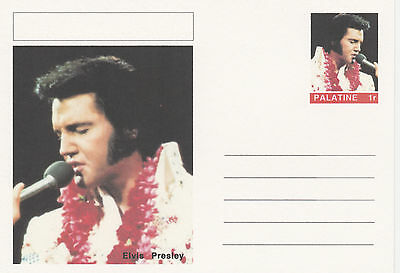 CINDERELLA - 3948 - ELVIS PRESLEY  featured on fantasy Postal Stationery card