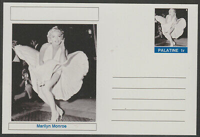 CINDERELLA - 3949 - MARILYN MONROE  featured on fantasy Postal Stationery card