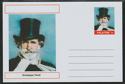 CINDERELLA - 3950 - GIUSEPPE VERDI  featured on fantasy Postal Stationery card