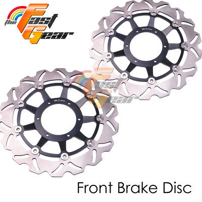 Racing Front Brake Disc Rotor x2 Fit HONDA CBR1000RR 2006 2007 Fireblade