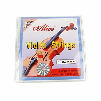 Alice A 703 violin strings quality set of 4 metal new size 1/2 by Alice SB UK