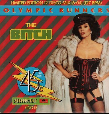 "Olympic Runners(12"" Vinyl)The Bitch-Polydor-POSPX 62-UK-VG/Ex"