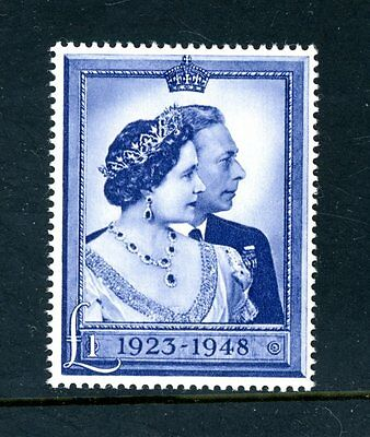 Great Britain  1948  Silver Wedding  £1 Value,  unmounted MINT   (M1413)