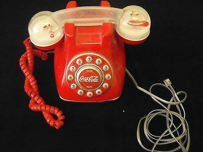 Coca Cola Snow Dome (Push Button)  Phone (2001)