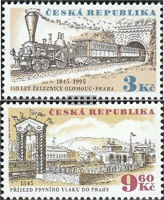 czech republic 81-82 (complete.issue.) unmounted mint / never hinged 1995 Railwa