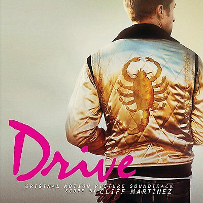 DRIVE Soundtrack CLIFF MARTINEZ & VARIOUS ARTISTS DOUBLE LP Vinyl NEW 2017 Ltd