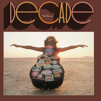 NEIL YOUNG Decade LP Vinyl RSD 2017 Limited Edition Triple 140gm