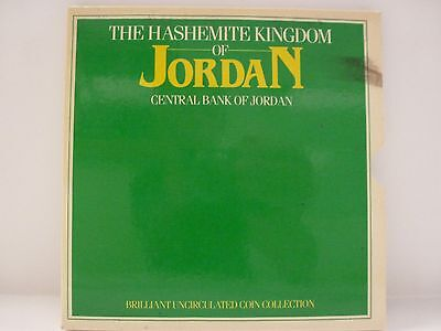 Jordan 1985 8 Coins Sealed Mint Set,with Cover,coa Brilliant Uncirculated