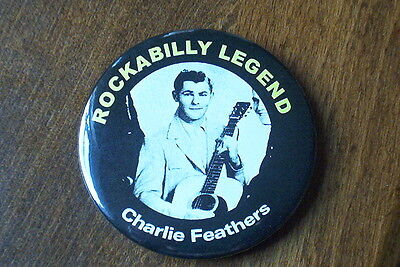 Charlie Feathers fridge magnet rockabilly 50s #2