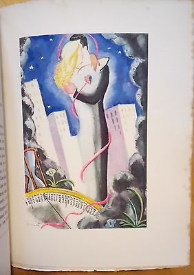 Affaires de Coeur by Hermant 1934 with colour plates * No. 299/600 Ltd Edn.