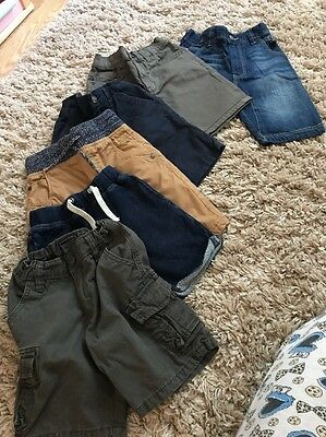 Used NEXT Boys Short Bundle 6 Pairs 5 Years