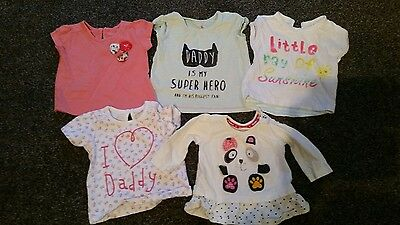 baby girls tops 3-6 months