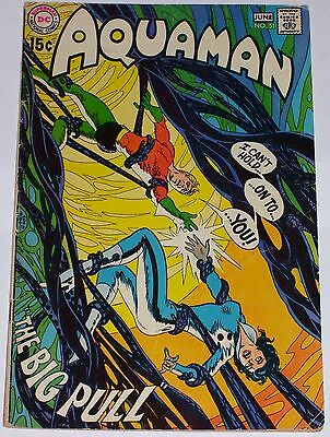 Aquaman #51 from June 1970 GD/VG to VG Neal Adams art. Deadman back-up story