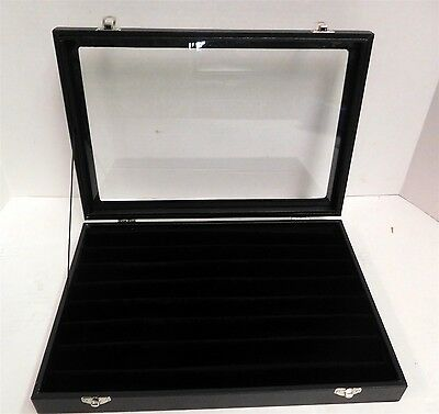 Display Case for Bracelets,Rings, Necklaces Jewelry Acrylic Top