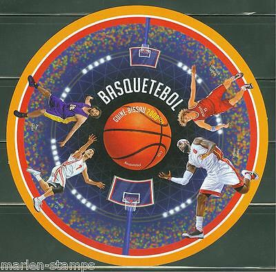 Guinea Bissau  2013 Basketball Souvenir Sheet Imperforated Mint Never Hinged