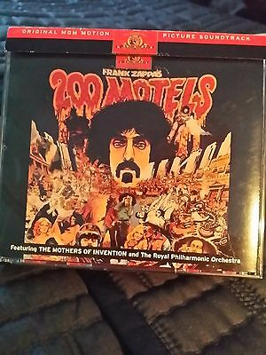 200 Motels Frank Zappa (2) CD Mothers of Invention Ryko Poster Box Set