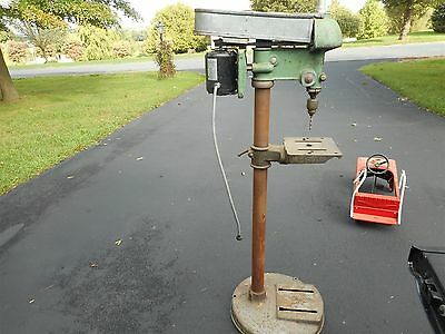 Walker Turner Drill Press For Wood And Metal circa 1950's