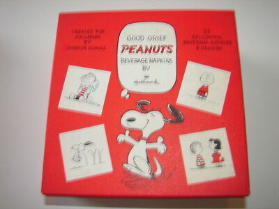 Peanuts Collectible: Petite/Cocktail Napkins by Hallmark